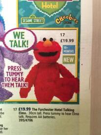 Sesame Street talking moving Elmo