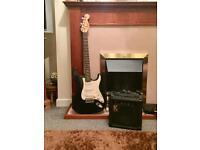 Fender Squier + amp