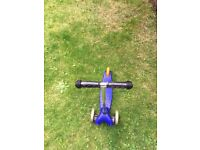 Scooter for sale - blue colour