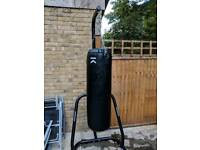 Punch Bag Stand and Punching Bag - AS NEW