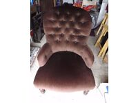 Nursing/bedroom armchair
