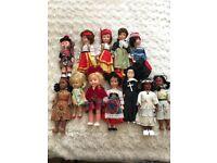 Box of Vintage Dolls