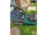 Hayter Harrier 48 key start petrol mower