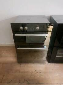HOTPOINT DOUBLE BUILT-IN ELECTRIC OVEN 60CM ×88CM