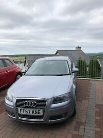 Audi A3 2.0T Sport 2008 - Tiptronic/DSG gearbox - Low Mileage - Service History and V5 logbook