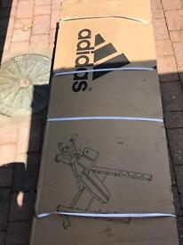 Adidas weights bench press - unopened -collection only