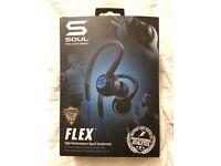 Running headset. Flex