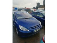 04 PEUGEOT 307 SE HDI 110 2.0 DIESEL breaking for parts only all parts available postage nationwide