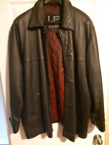 Men's leather jacket size XL