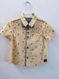 Baby Boy Monsoon shirt 12-18 Months