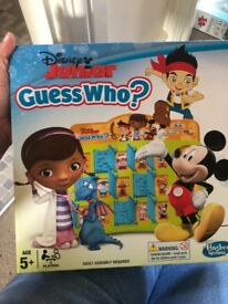 Monopoly junior/guess who junior