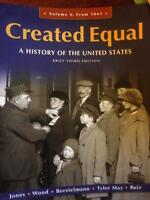 Created Equal- History Textbook