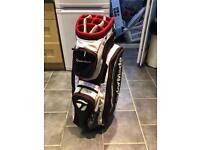 Gold Taylor made golf bag