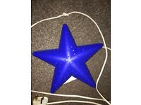 blue star light