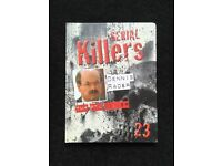 Collection of 25 DVD crime books.