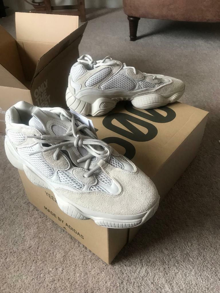 YEEZY 500 TRAINERS BRAND NEE AND BOXED SIZE 10 LTD EDT KANYE WEST ADIDAS