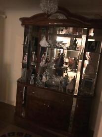 Diva walnut Italian furniture