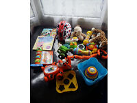 baby toys and clothes