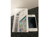 IPhone 4s in white like new