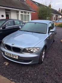 BMW 1 Series - Light Blue - Excellent condition £4,000 ONO