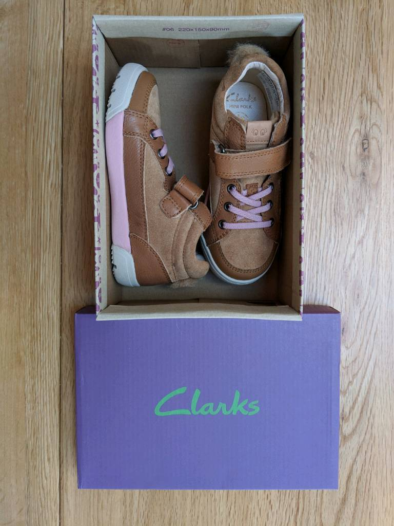 Shoe Farnham Bnib In G Surrey Clarks Gumtree Girls 8½ C5CSx