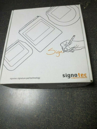Signotec Digital Signatures Pad LCD w/Backlight - ST-BE105-2-U100-B