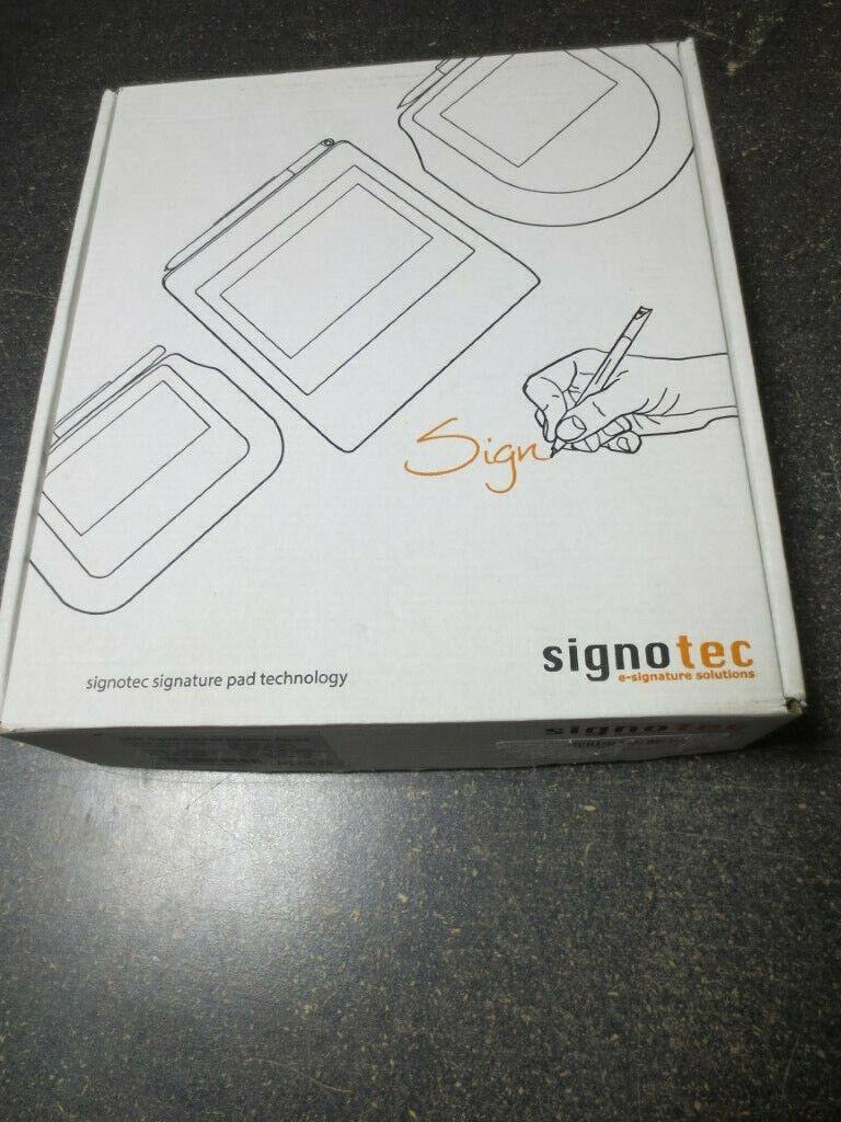 Signotec Digital Signatures Pad LCD wBacklight  STBE1052U100B