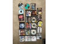 Large bundle of PS1 games & magazine discs