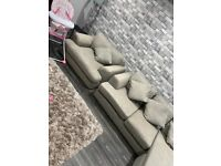 3 seater & cuddle chair