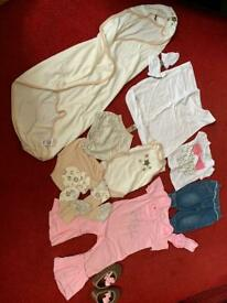 Mixed Bundle of Baby Girls Clothing