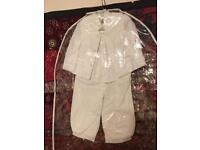 Child's Christening/Naming Day Suit 9-12 months