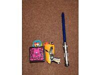 Super Fun Active Toys For Kids Lightsaber, NerfGun, Ferbe, The Amazing Zhus