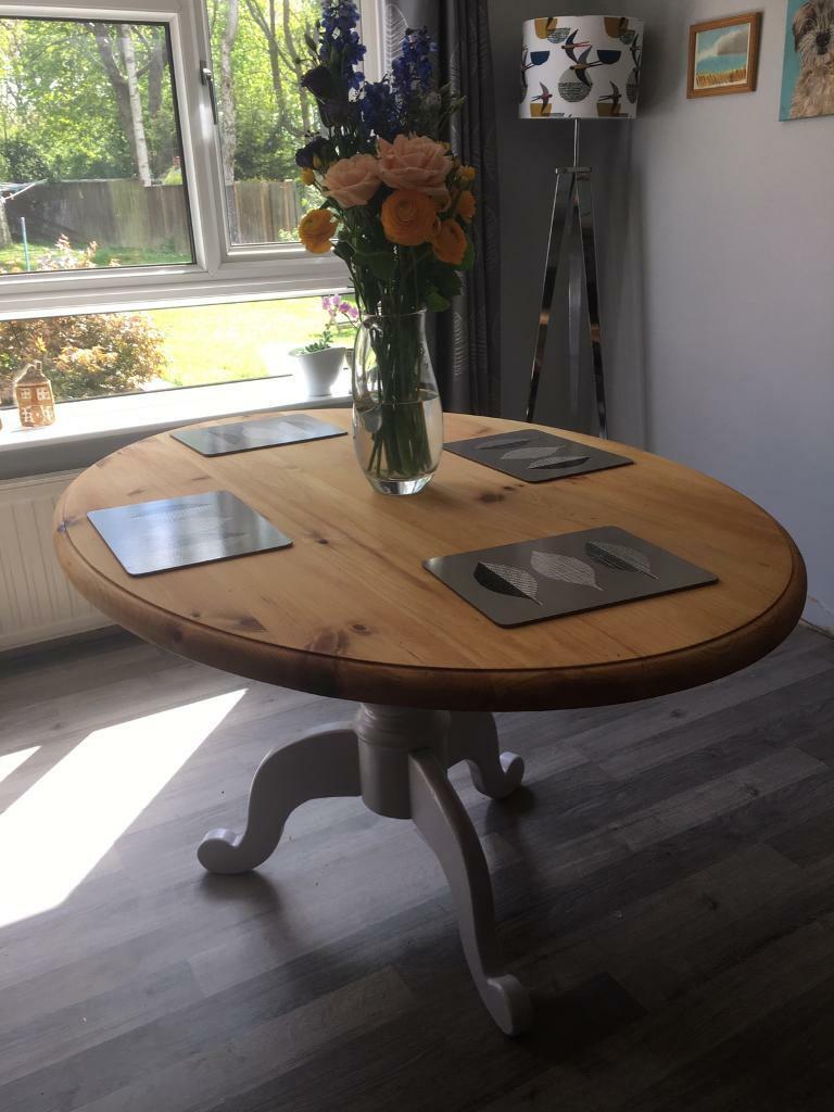 Oval pine table   in Norwich, Norfolk   Gumtree
