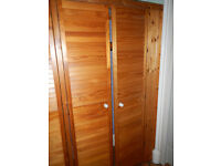 Louvre doors for wardrobe (6) 46cm x 198cm