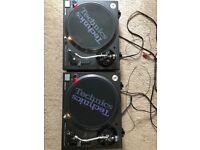 Technics SL-1210M3D Mint condition direct drive turntables