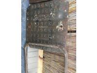 Steel drain cover