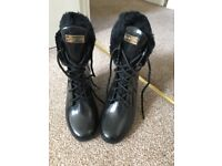 Hunter Earlham Wedge Boots Size 4/5 RRP £145