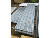 Galvanised 10Ft Box Profile Roof Sheets ~ New