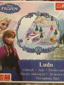 Frozen ludo board game