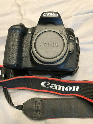 Canon EOS 70D 20.2MP Digital SLR Camera - Excellent condition. (Body only)