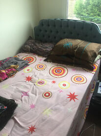 Imaculate condition Double bed with Head rest and base - Wonderful conditions and sparingly used