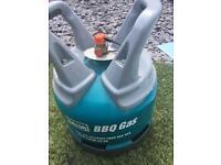 Dumbell gas bottle full 6kg