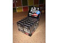 Joblot 4800 packs RAW energy chewing bubble gum wholesale pallet load bulk retail resale confect