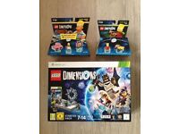 Brand New Lego Dimensions Starter Pack Bundle | Simpsons Fun & Level Pack |