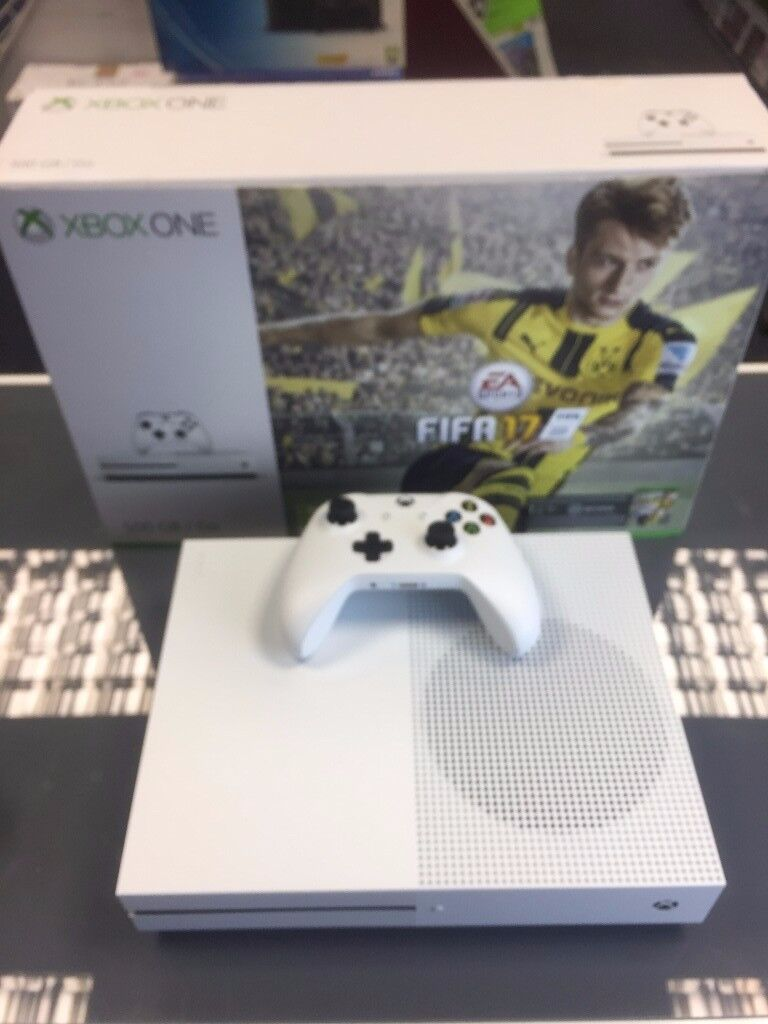 Xbox ONE S- mint condition. YOU CAN SWAP YOUR UNWANTED STUFF FOR THI