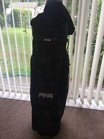 Men's golf ping bag black