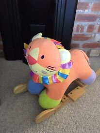 Rocking lion (horse / animal / toy)