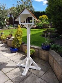 Quality hand made bird table.