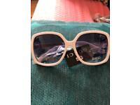 New white sunglasses