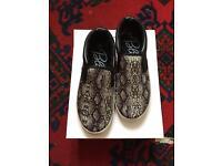 BRAND NEW Snake Skin slip-on shoes